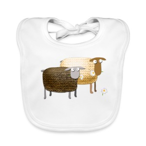 Funny Yummy Sheep - Baby Organic Bib