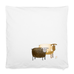 Funny Yummy Sheep - Pillowcase 40 x 40 cm