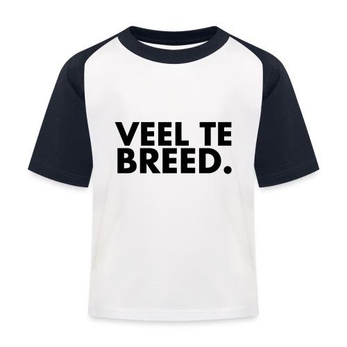 Veel te   T-Shirt - Kinderen baseball T-shirt