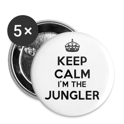 Badge Keep calm I'm the Jungler - Badge moyen 32 mm