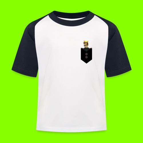 T-Shirt De Cor Dupla c/ Bolso - Kids' Baseball T-Shirt