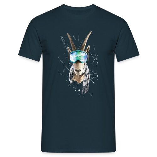 Bock auf Powdern! - Männer T-Shirt