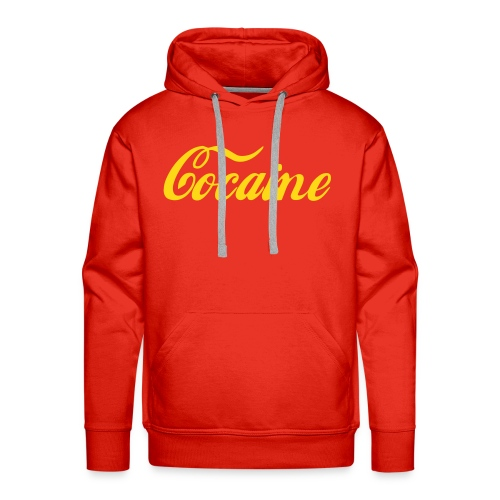 Cocaine hoodie - Mannen Premium hoodie