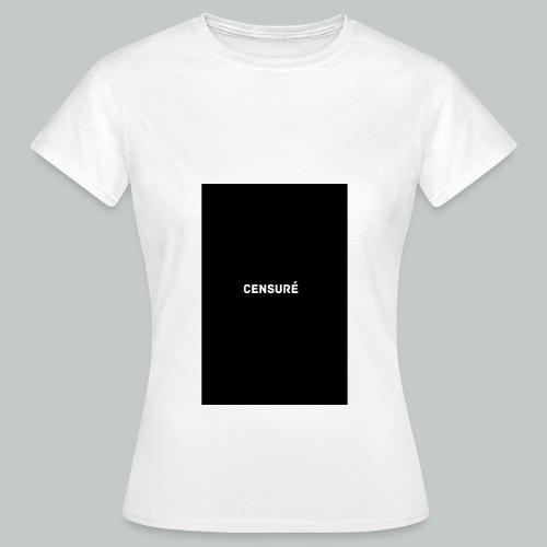censuré homme - T-shirt Femme