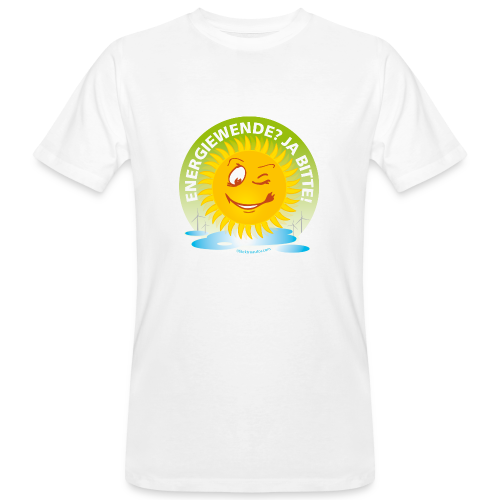 Erdöl? NEIN DANKE! Energiewende? JA BITTE! - Männer Bio-T-Shirt