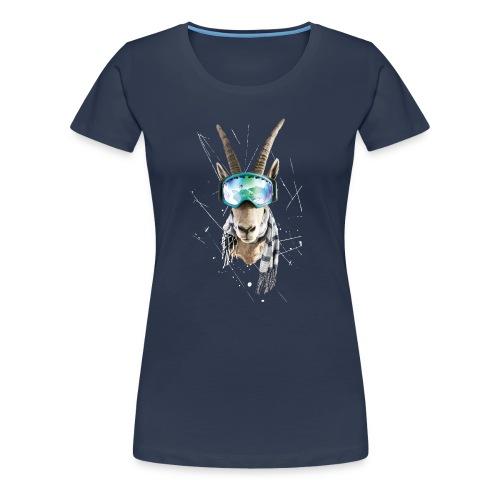 Bock auf Powdern! - Frauen Premium T-Shirt