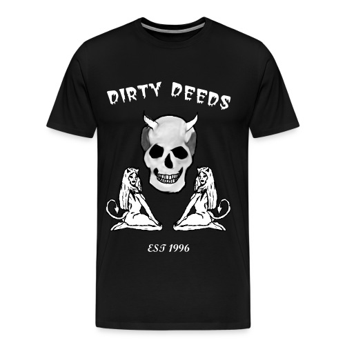 Dirty Deeds Men's Tee (demon girls) - Men's Premium T-Shirt