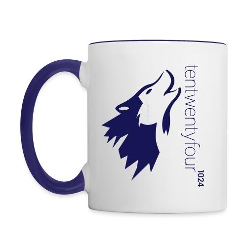 1024 Coffee Mug - Tasse zweifarbig