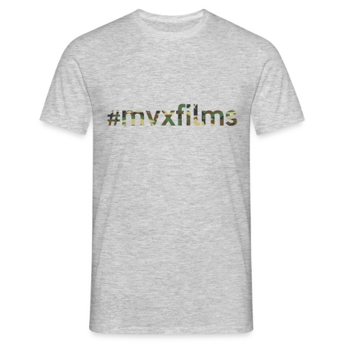 #mvxfilms t-shirt - Men's T-Shirt