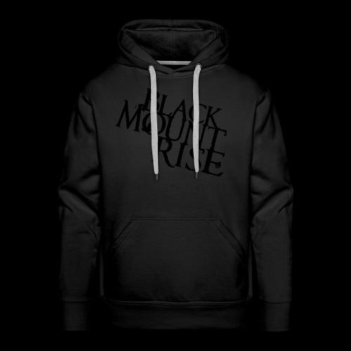 BMR Hoodie black-on-black - Männer Premium Hoodie