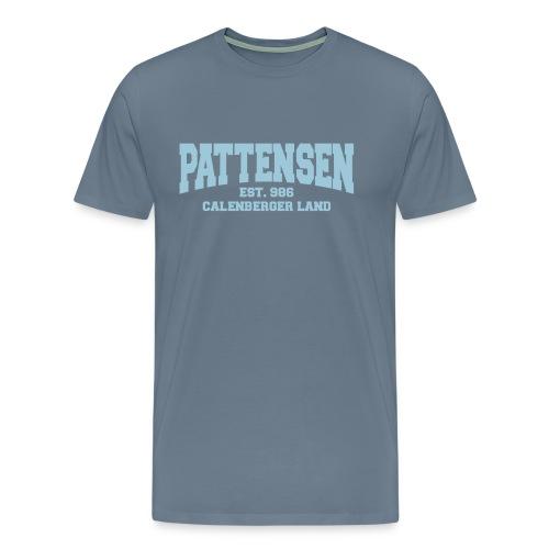Pattensen-Shirt für echte Calenberger - Männer Premium T-Shirt
