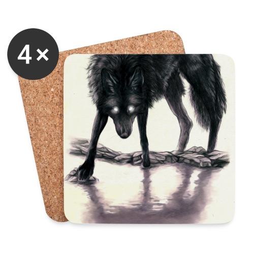 .: Black Beast :. LIMITED - Coasters (set of 4)