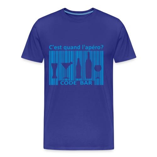 C'est quand l'apéro? - T-shirt Premium Homme