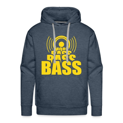 Bass  - Men's Premium Hoodie