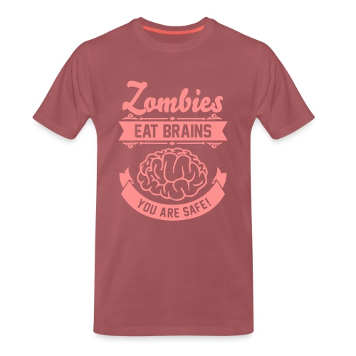 Zombie Humor  - Men's Premium T-Shirt