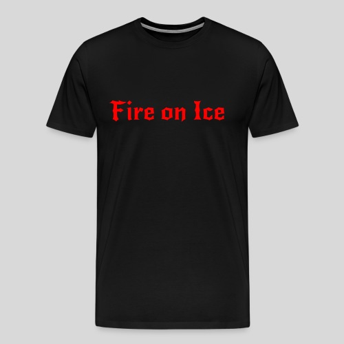 Spenden-Shirt grau-grün - Männer Premium T-Shirt