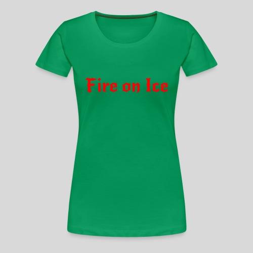 Spenden-Shirt grün Damen - Frauen Premium T-Shirt