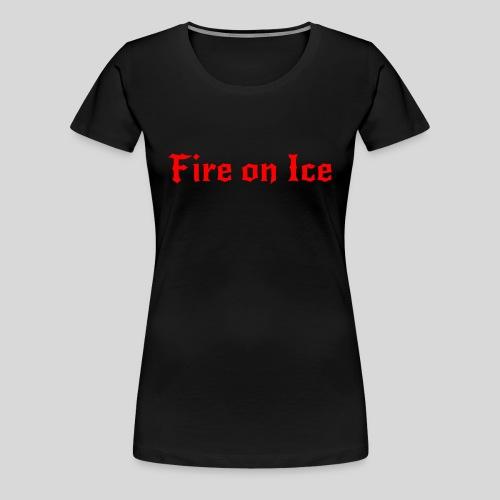 Spenden-Shirt schwarz Damen - Frauen Premium T-Shirt