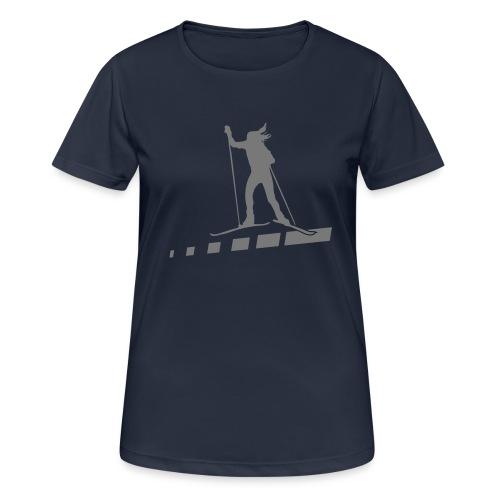 schulz sportreisen - Logo Shirt 2016 - Frauen T-Shirt atmungsaktiv