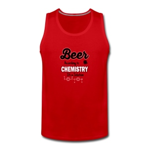 Beer is a solution Tank Tops - Men's Premium Tank Top