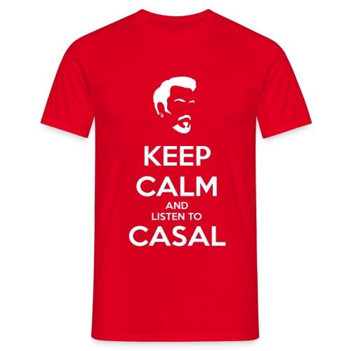 KEEP CALM CASAL - Camiseta hombre