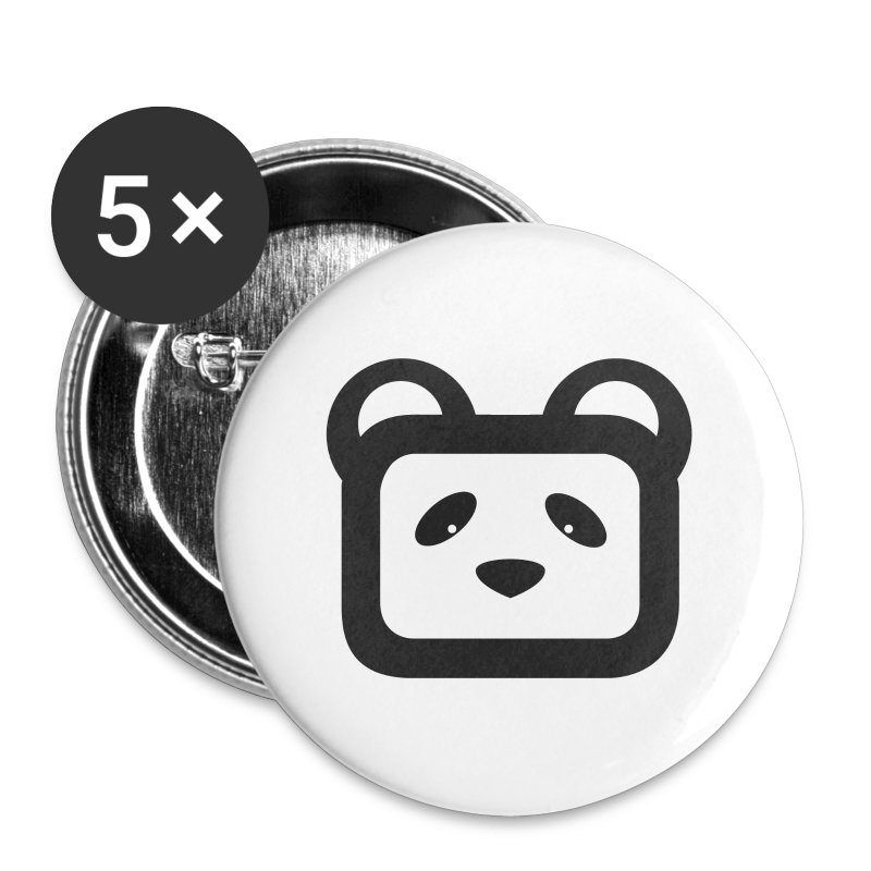 Panda - Badge petit 25 mm
