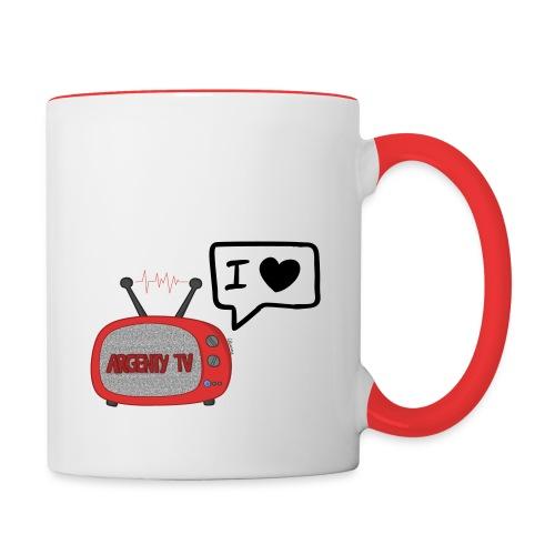 Tasse Officielle ArgentyTV - Mug contrasté