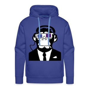 3D Glasses Guy - Men's Premium Hoodie