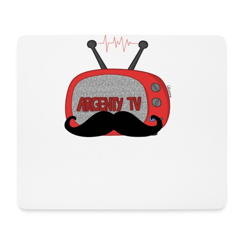Tapis de souris GEEK Officiel ArgentyTV - Tapis de souris (format paysage)