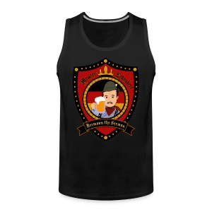 Hermann Crest Tank Black Men - Men's Premium Tank Top