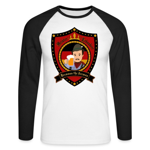 Hermann Crest Baseball - Men's Long Sleeve Baseball T-Shirt