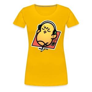 Just Chillin' Duck Women's T-Shirt - Colour - Women's Premium T-Shirt