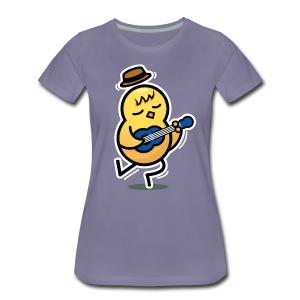 Musical Talent Duck Women's T-Shirt - Colour - Women's Premium T-Shirt