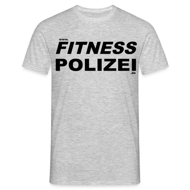 Fitness-Polizei Shirt Grau
