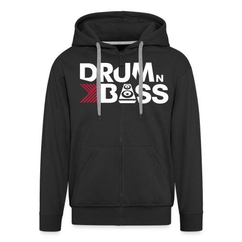 Drum Bass Jacked - Männer Premium Kapuzenjacke