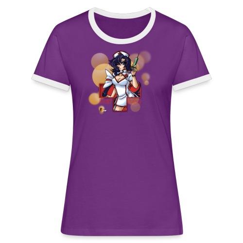 Nigh Nurse - Frauen Kontrast Shirt - Frauen Kontrast-T-Shirt