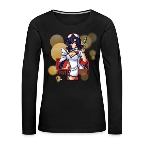 Night Nurse - Frauen Langarm Premium Shirt - Frauen Premium Langarmshirt
