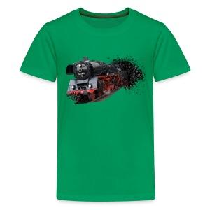 Dampflokomotive - Teenager Premium T-Shirt