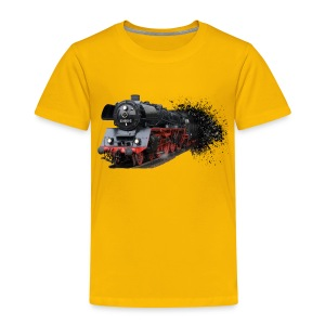 Dampflokomotive - Kinder Premium T-Shirt
