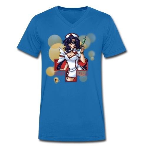 Night Nurse - V Shirt - Männer Bio-T-Shirt mit V-Ausschnitt von Stanley & Stella