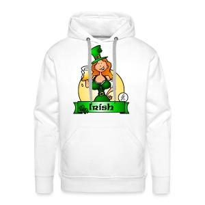 St. Patrick's Day Irish Maiden - Men's Premium Hoodie