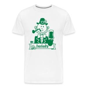 Paddy celebrates St. Patrick's Day - Men's Premium T-Shirt