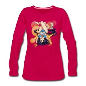 Gamer Girl - Frauen Langarm Premium Shirt - Frauen Premium Langarmshirt
