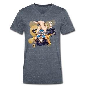 Gamer Girl - V Shirt - Männer Bio-T-Shirt mit V-Ausschnitt von Stanley & Stella