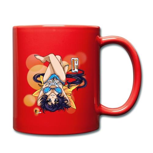 Gamer Girl - Tasse inkl. Logo - Tasse einfarbig