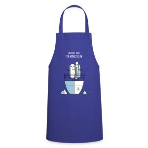 The Hotdogs go on - Cooking Apron
