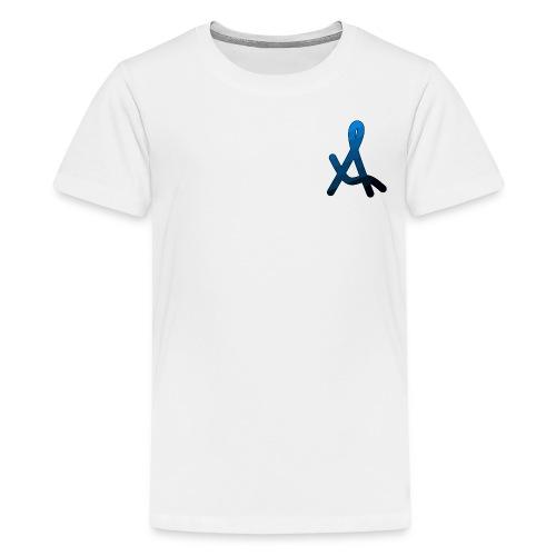 Original Areis | Sea White - Teenage Premium T-Shirt