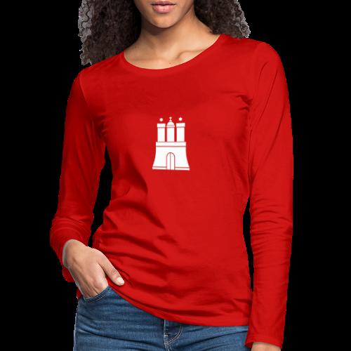 Hamburger Wappen Langarmshirt - Frauen Premium Langarmshirt