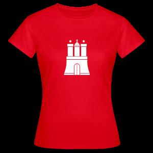 Hamburger Wappen T-Shirt - Frauen T-Shirt