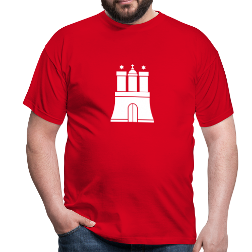Hamburger Wappen T-Shirt - Männer T-Shirt